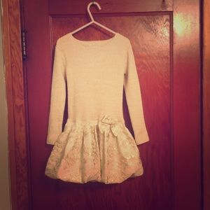 Other - Holiday sweater dress 4/5t ! Worn once!